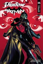 Image: The Shadow / Batman #5 (cover A - Peterson) - Dynamite