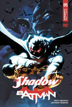 Image: The Shadow / Batman #5 (cover B - Tan) - Dynamite