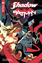 Image: The Shadow / Batman #5 (cover C - Charm) - Dynamite
