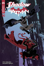 Image: The Shadow / Batman #5 (cover D - Carey) - Dynamite