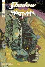 Image: The Shadow / Batman #5 (cover E subscription) - Dynamite