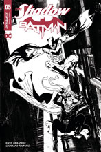 Image: The Shadow / Batman #5 (cover H incentive - Carey) (30-copy) - Dynamite