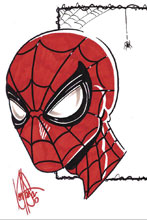 Image: Amazing Spider-Man #789 (DFE signed - Haeser Sketch Lee Romita) - Dynamic Forces