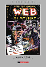 Image: Pre Code Classics: Web of Mystery Vol. 01 HC  - PS Artbooks
