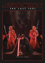 Image: Star Wars: The Last Jedi Interview Special  (newstand cover) - Titan Comics