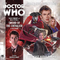 Image: Doctor Who Audio CD: 10th Doctor - Sword of Chevalier  - Big Finish