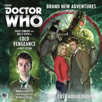 Image: Doctor Who Audio CD: 10th Doctor - Cold Vengeance  - Big Finish