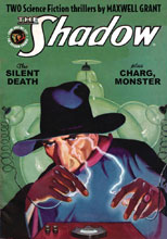 Image: Shadow Double-Novel Vol. 127 Silent Death & Charg Monster  - Sanctum Productions