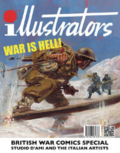 Image: Illustrators Special: War is Hell! #2 - Book Palace