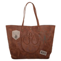 Image: Star Wars E8 Tote Bag: The Last Jedi - Rey  - Bioworld Merchandising