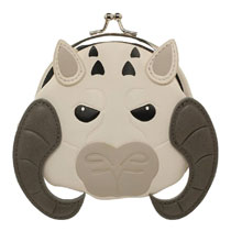 Image: Star Wars Mini-Coin Purse: Tauntaun  - Bioworld Merchandising