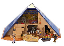Image: Playmobil Play-Set: Egyptian Pharaohs Pyramid  - Playmobil Usa