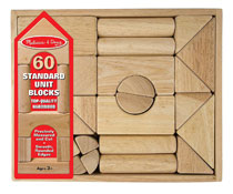 Image: Melissa & Doug Standard Unit Blocks  - Melissa & Doug, LLC