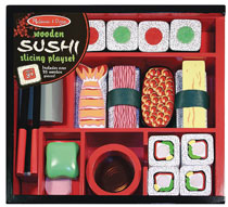 Image: Melissa & Doug Sushi Slicing Playset  - Melissa & Doug, LLC