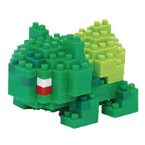 Image: Nanoblock Pokemon Block Set: Bulbasaur  - Schylling Associates Inc