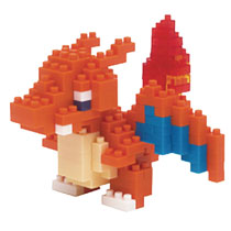 Image: Nanoblock Pokemon Block Set: Charizard  - Schylling Associates Inc