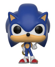 Image: Pocket Pop Sonic the Hedgehog Vinyl Figure Keychain: Sonic  (w/Ring) - Funko