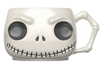 Image: Pop! Home Nightmare Before Christmas Head Mug: Jack  - Funko