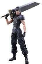 Image: Crisis Core Final Fantasy VII Play Arts Kai Action Figure: Zack Fair  - Square Enix Inc