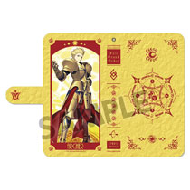 Image: Fate/Grand Order Phone Wallet Case: Archer Gilgamesh  - Hobby Stock