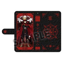 Image: Fate/Grand Order Phone Wallet Case: Archer Oda Nobunaga  - Hobby Stock