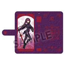 Image: Fate/Grand Order Phone Wallet Case: Lancer Scathach  - Hobby Stock