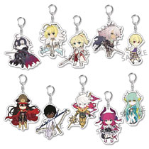 Image: Pikuriru Fate Grand Order Vol. 3: 10-Piece Trading Keychain Display  - Hobby Stock