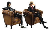 Image: Gem Series Tiger & Bunny SOC PVC Figure: Kotetsu & Barnaby 2-Pack  - Megahouse Corporation