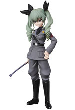 Image: Girls Und Panzer Finale UDF Figure: Anchovy  - Medicom Toy Corporation