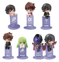 Image: Ochatomo Series Code Geass Lelouch of Rebellion 8-Piece Display  - Megahouse Corporation