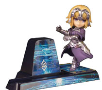 Image: Bishoujo Character Collection Phone Stand: No-16 Jeanne D Arc  - Pulchra