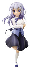 Image: Is the Order a Rabbit Chino PVC Figure  (Cafe Style version) (1/7 scale) - Plum