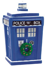 Image: Doctor Who Titans Vinyl Figure: Holiday Tardis  (4.5-inch) - Titan Books Uk