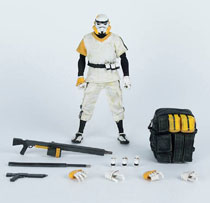 Image: Lonely Trooper TK Scale Figure: Sergeant  (White version) (1/12 scale) - Three A Trading Company Ltd