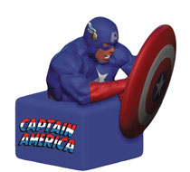 Image: Marvel Coin Bank: Captain America  - Surreal Entertainment
