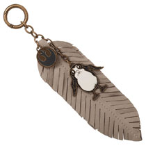 Image: Star Wars E8 Keychain: Porg  (w/Dangle Charms) - Bioworld Merchandising