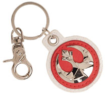 Image: Star Wars E8 Keychain: Rebel Symbol  - Bioworld Merchandising