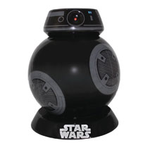 Image: Star Wars: Last Jedi Ceramic Lidded Cookie Jar: BB-9E  - Vandor LLC