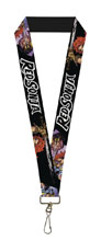 Image: Red Sonja Lanyard: Sword Action Face  - Buckledown, Inc