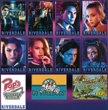 Image: Riverdale 36 Piece Magnet Assortment  - Ata Boy
