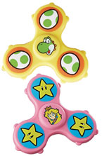 Image: Fidget It's Super Mario Graphic Spinners Display  - Hasbro Toy Group