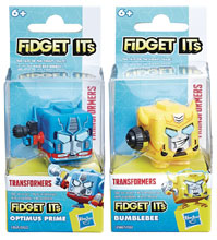 Image: Fidget It's Transformers Character Cube Display  - Hasbro Toy Group