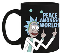 Image: Rick and Morty Mug: Peace Among Worlds  - Surreal Entertainment