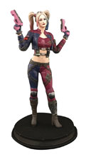 Image: DC Injustice Statue: Harley Quinn  (Pink Costume) - Icon Heroes