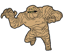 Image: Batman Animated Series Magnet: Clayface  - Popfun Merchandise