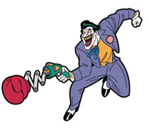 Image: Batman Animated Series Magnet: Joker  - Popfun Merchandise