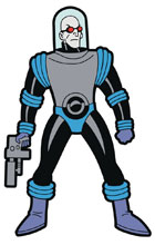Image: Batman Animated Series Magnet: Mr. Freeze  - Popfun Merchandise