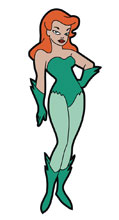 Image: Batman Animated Series Magnet: Poison Ivy  - Popfun Merchandise