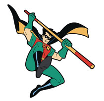 Image: Batman Animated Series Magnet: Robin  - Popfun Merchandise