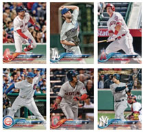 Image: Topps 2018 Baseball Trading Cards Complete Set  - Topps Company